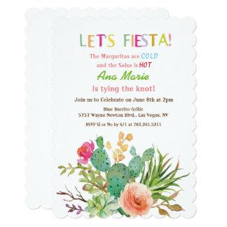 イベント-フェスタの花のサボテンの招待状 カード