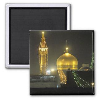イマームのレーザの神社の複合体のGolden Domeの マグネット