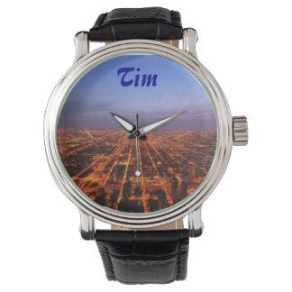 イメージおよび名前の男性用クラシックな腕時計 腕時計