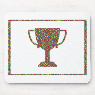 イメージに勝つ勝者の波 マウスパッド
