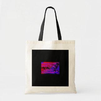 イライラしたロゴのバッグ トートバッグ