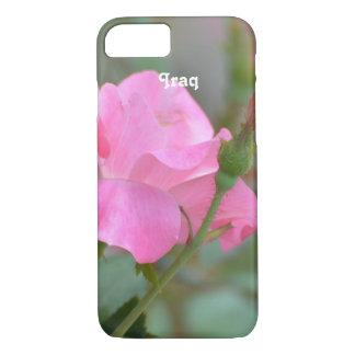 イラクのパステル調ピンクのバラ iPhone 8/7ケース
