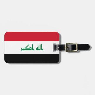 イラクの国民の世界の旗 ラゲッジタグ