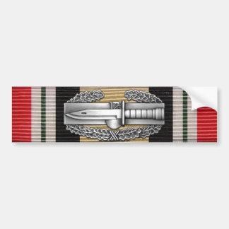 イラクの戦闘の行為のバッジのバンパーステッカー バンパーステッカー
