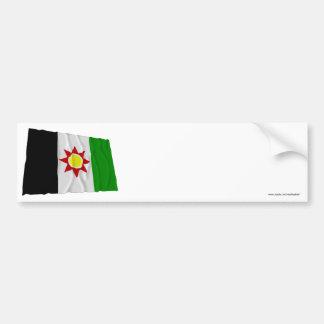 イラクの振る旗(1959-1963年) バンパーステッカー