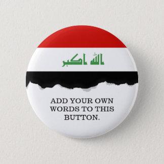イラクの旗 缶バッジ