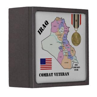 イラクの退役軍人/1つのキャンペーン星のギフト用の箱 ギフトボックス