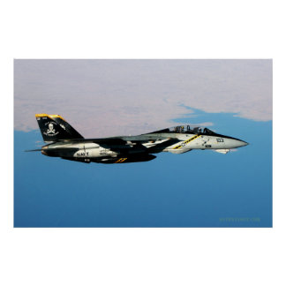 イラク上のF14すてきなRodger ポスター