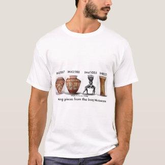 イラク博物館のワイシャツからの行方不明の部分 Tシャツ