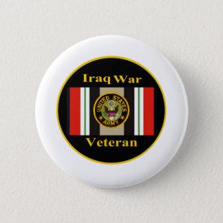 """イラク戦争の退役軍人の""""軍隊"""" Pin 5.7cm 丸型バッジ"""