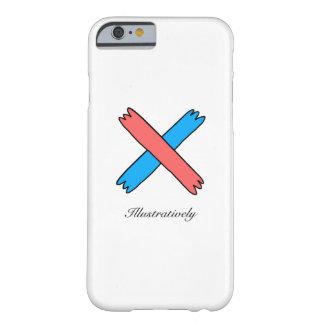 イラストラティブにIphone 6/6Sの場合 Barely There iPhone 6 ケース