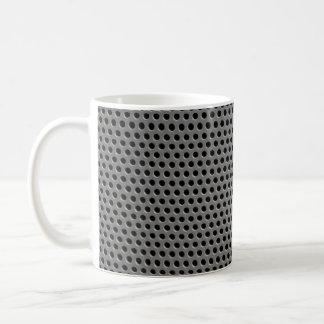 イラストラティブプラスチック格子 コーヒーマグカップ