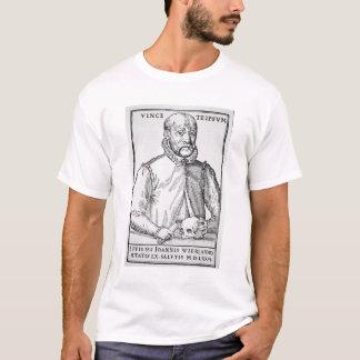 イラストレーションのジョンWierの(1516-88年の)コピーからの「 Tシャツ