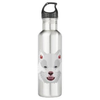 イラストレーション犬の顔フィンランドのLapphund ウォーターボトル