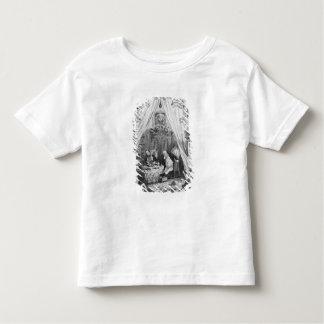 """イラストレーション""""チャールズ著Pickwickの紙 トドラーTシャツ"""