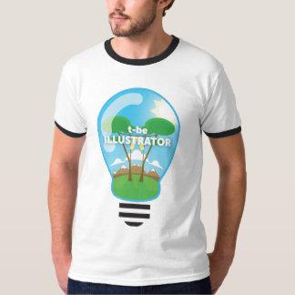 イラストレーターはtあります tシャツ