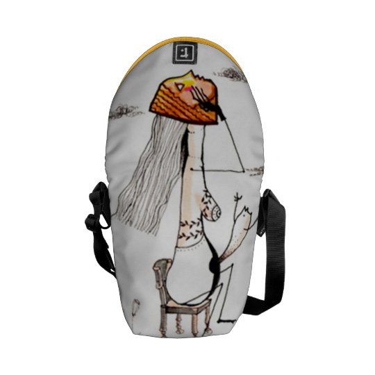 イラスト メッセンジャーバッグ。 クーリエバッグ