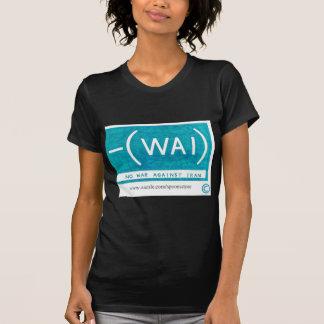イランに対する戦争無し Tシャツ