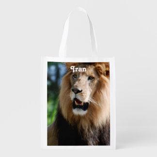 イランのアジアのライオン エコバッグ