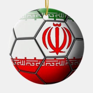 イランのサッカーのオーナメント セラミックオーナメント