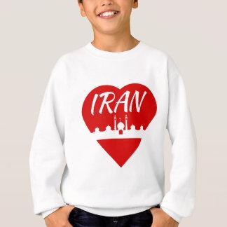イランのハート スウェットシャツ