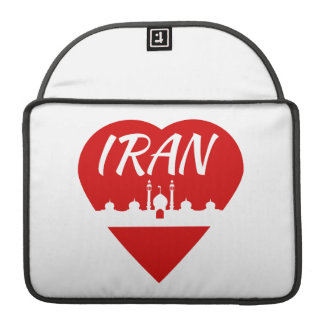 イランのハート MacBook PROスリーブ