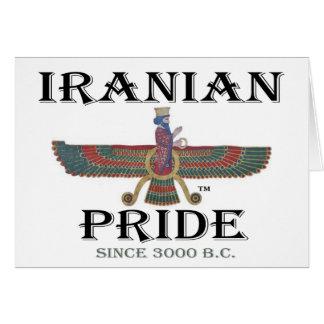 イランのプライドカード カード