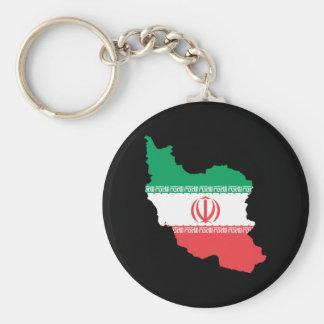 イランの地図 キーホルダー