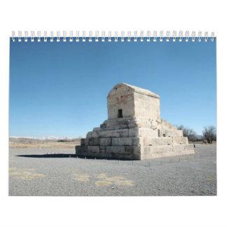 イランの建築 カレンダー
