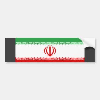 イランの旗 バンパーステッカー
