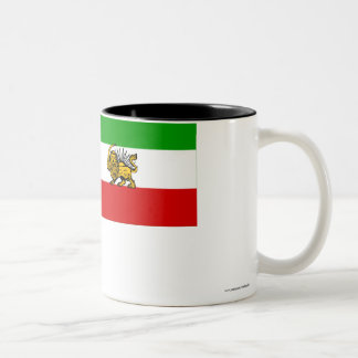 イランの旗(1925-1979年) ツートーンマグカップ