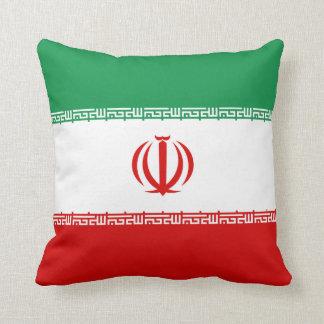 イランの旗Xの旗の枕 クッション