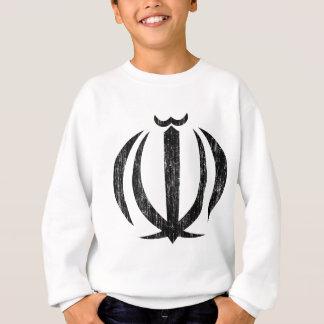 イランの紋章付き外衣 スウェットシャツ