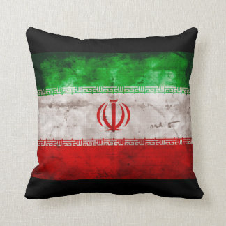 イランの風化させた旗 クッション