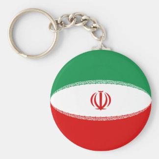 イランFisheyeの旗Keychain キーホルダー