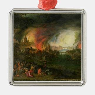イリオス(銅の油)の焼却 メタルオーナメント