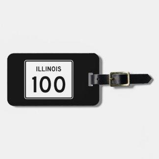 イリノイのルート100 ラゲッジタグ
