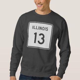イリノイのルート13 スウェットシャツ
