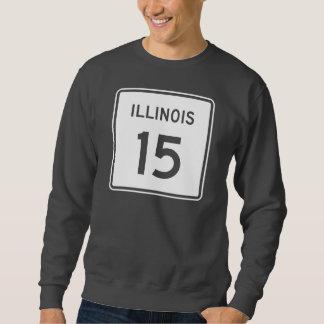 イリノイのルート15 スウェットシャツ