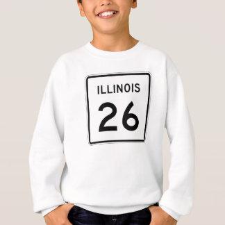 イリノイのルート26 スウェットシャツ