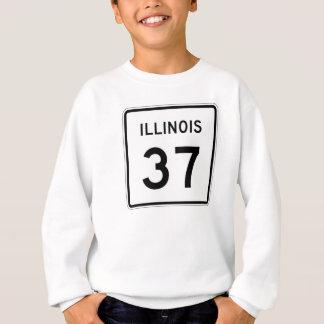 イリノイのルート37 スウェットシャツ