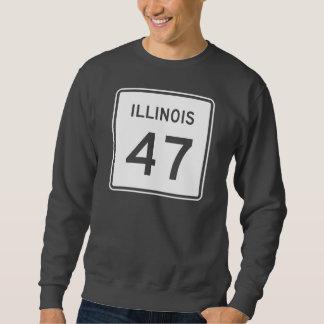 イリノイのルート47 スウェットシャツ