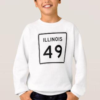 イリノイのルート49 スウェットシャツ