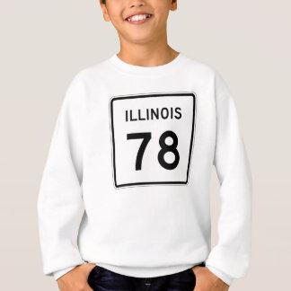 イリノイのルート78 スウェットシャツ