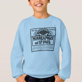 イリノイの中央鉄道ヴィンテージの子供のスエットシャツ スウェットシャツ