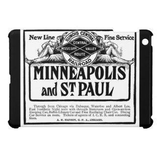 イリノイの中央鉄道ヴィンテージのiPadのケース iPad Miniケース