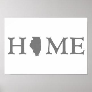イリノイの故郷の州 ポスター