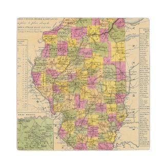 イリノイの新しい地図 ウッドコースター