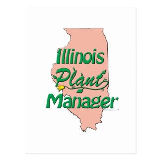 イリノイの植物マネージャー ポストカード