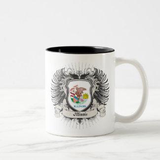 イリノイの頂上 ツートーンマグカップ